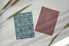 Papiernictvo - svadobné oznámenie 007 - 12247898_