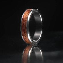 Prstene - Bubinga Titanium - 12247824_
