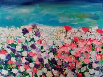 Obrazy - Lúka plná kvetov - 12246364_