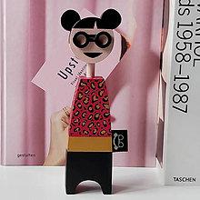 Dekorácie - Drevená bábika Zane - 12248251_