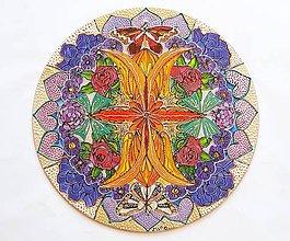 Obrazy - mandala Vierka - 12248503_