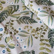 Textil - Papradie dekoračná látka - 12246919_