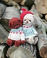Hračky - Hnedý medveď - 12249296_