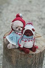 Hračky - Hnedý medveď - 12249298_