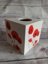 Krabičky - HM - Krabička na vreckovky - podstava štvorec - 12251043_