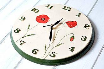 Hodiny - Keramické hodiny - 12250806_