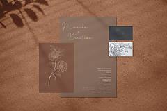 Papiernictvo - svadobné oznámenie 014  - 12251199_