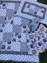 Textil - Detská patchworková súprava - 12250894_