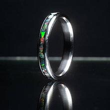 Prstene - Opál Titanium - 12249988_