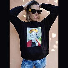 Mikiny - Frida - čierna mikina VÝPREDAJ !!! - 12253117_