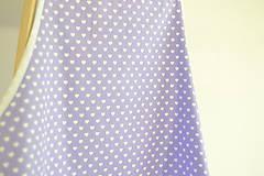 Iné oblečenie - fialová zástera (2 vrecká) - 12249854_