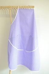 Iné oblečenie - fialová zástera (2 vrecká) - 12249855_