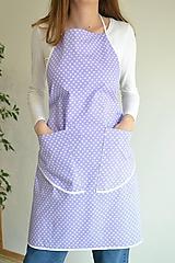 Iné oblečenie - fialová zástera - 12249856_