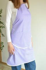 Iné oblečenie - fialová zástera (2 vrecká) - 12249859_