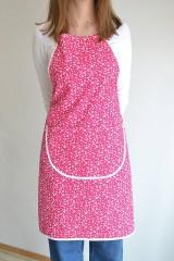 Iné oblečenie - ružová zástera - 12249972_