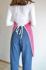 Iné oblečenie - ružová zástera - 12249974_