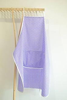 Iné oblečenie - fialová zástera (1 vrecko) - 12249865_