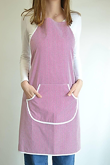 Iné oblečenie - fuchsiová zástera (1 vrecko) - 12249888_