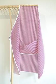 Iné oblečenie - fuchsiová zástera (1 vrecko) - 12249895_