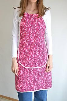 Iné oblečenie - ružová zástera - 12249970_