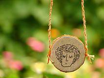 Náhrdelníky - náhrdelník: z a s n e n á - 12256409_