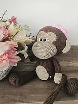 Hračky - Opička - 12255867_