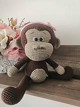 Hračky - Opička - 12255868_