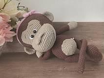 Hračky - Opička - 12255869_