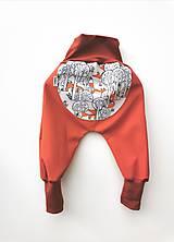 "Detské oblečenie - Softshellky ""schovávačka"" - 12254677_"