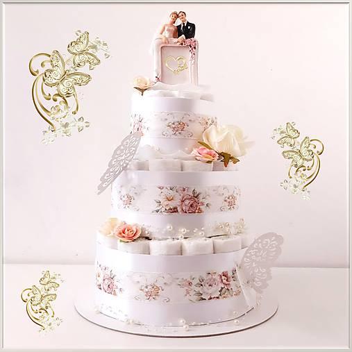 Plienková torta SVADBA❤