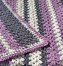 Textil - Detská deka č.4 - 12253678_