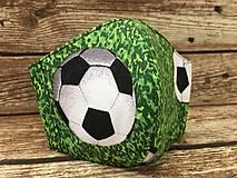 Rúška - Detské rúško pre futbalistov - 12256108_