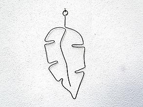 Dekorácie - Veľký list  (23 cm úzky) - 12253747_