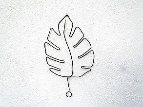 Dekorácie - Veľký list  (20- 22 cm široký) - 12253755_
