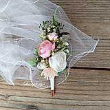 Pierka - svadobné pierko-ženích - 12256132_