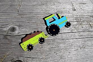 Detské doplnky - traktor - 12257762_