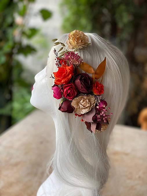 """Kvetinová aplikácia """"jesenná romanca"""""""