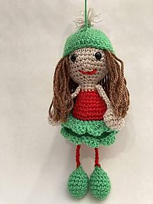 Hračky - bábika v čiapke - 12259486_