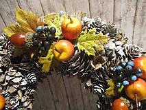 Dekorácie - Jesenný veniec - 12261546_