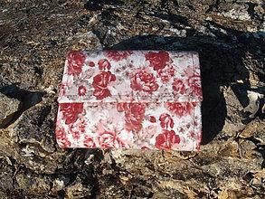 Peňaženky - peňaženka Pivonie - 12261474_
