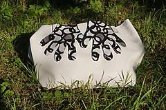 Rukavice - Úpletové rukavičky - Kruhy - 12261554_