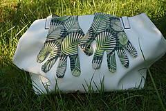 Rukavice - Úpletové rukavičky - Listy - 12261564_