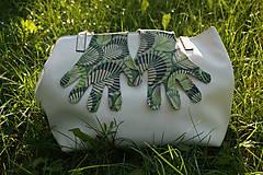 Rukavice - Úpletové rukavičky - Listy - 12261567_