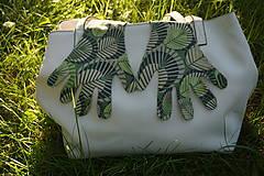 Rukavice - Úpletové rukavičky - Listy - 12261570_