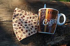 Rúška - Rúško - Milujem kávu - 12261642_