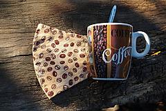 Rúška - Rúško - Milujem kávu - 12261651_