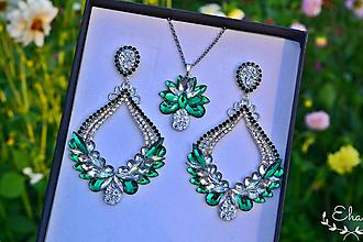 Sady šperkov - Set náušnice a nahrdelník - 12259803_