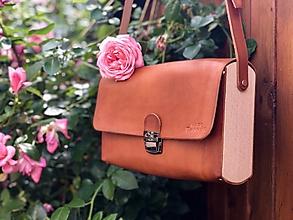 Veľké tašky - Dámska kabelka - Wooden Life No.06 - 12260440_