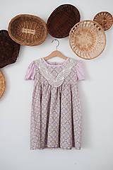 Detské oblečenie - Šaty Miriam - 12260141_