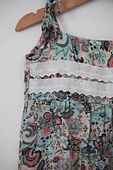 Detské oblečenie - Šaty Leila - 12260151_